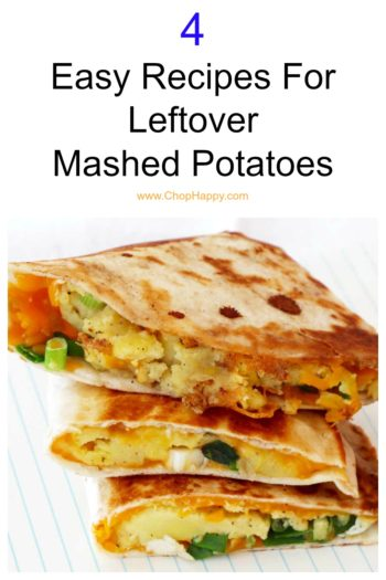 4 Easy Recipes For Leftover Mashed Potatoes