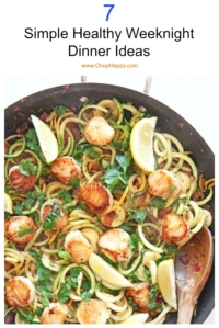7 Simple Healthy Weeknight Dinner Ideas
