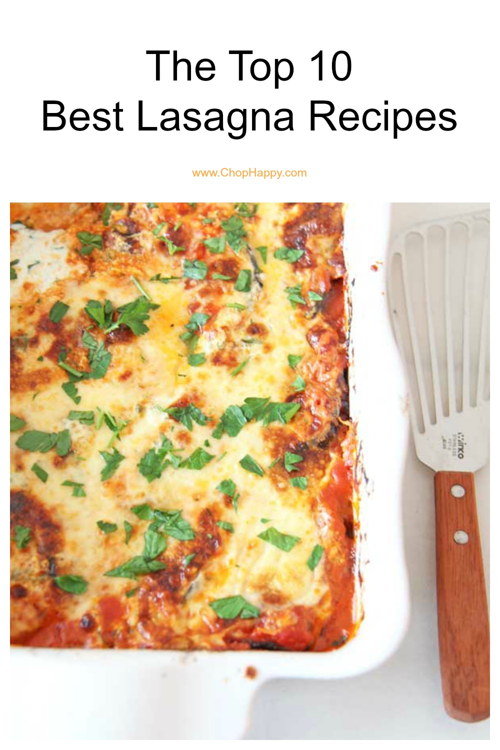 The Top 10 Best Lasagna Recipes