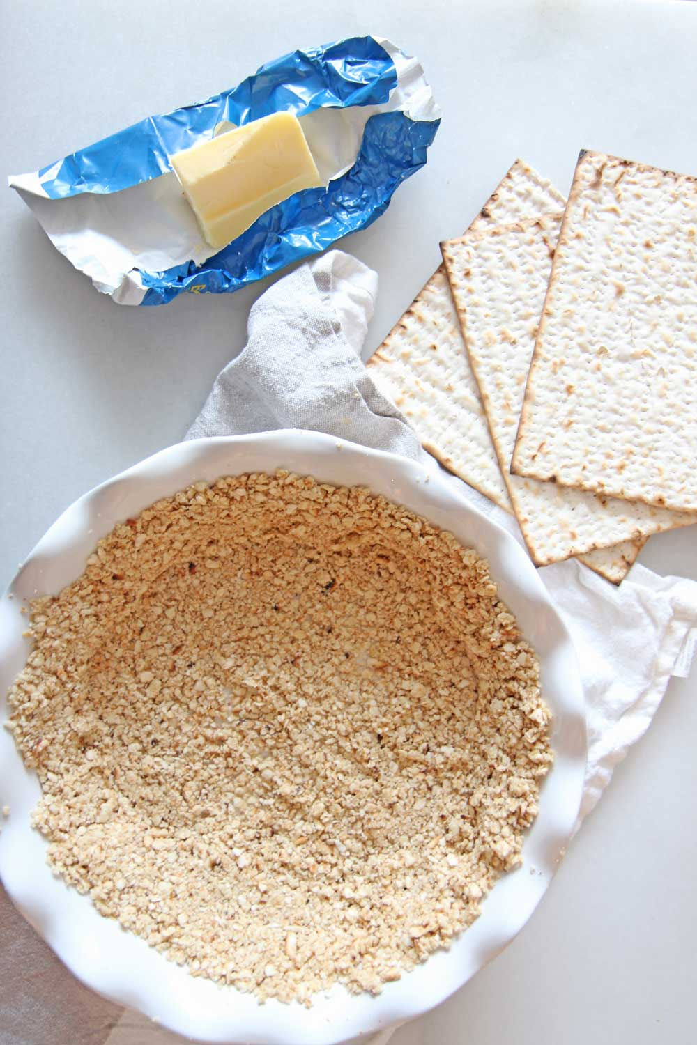 How To Make Matzo Pie Crust Recipe (3 Ingredients)