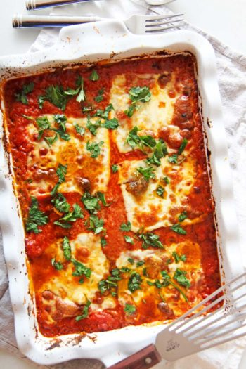 5 Ingredient Cheesy Lasagna