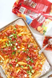 How to Transform Frozen Fries Into Loaded Taco Fries