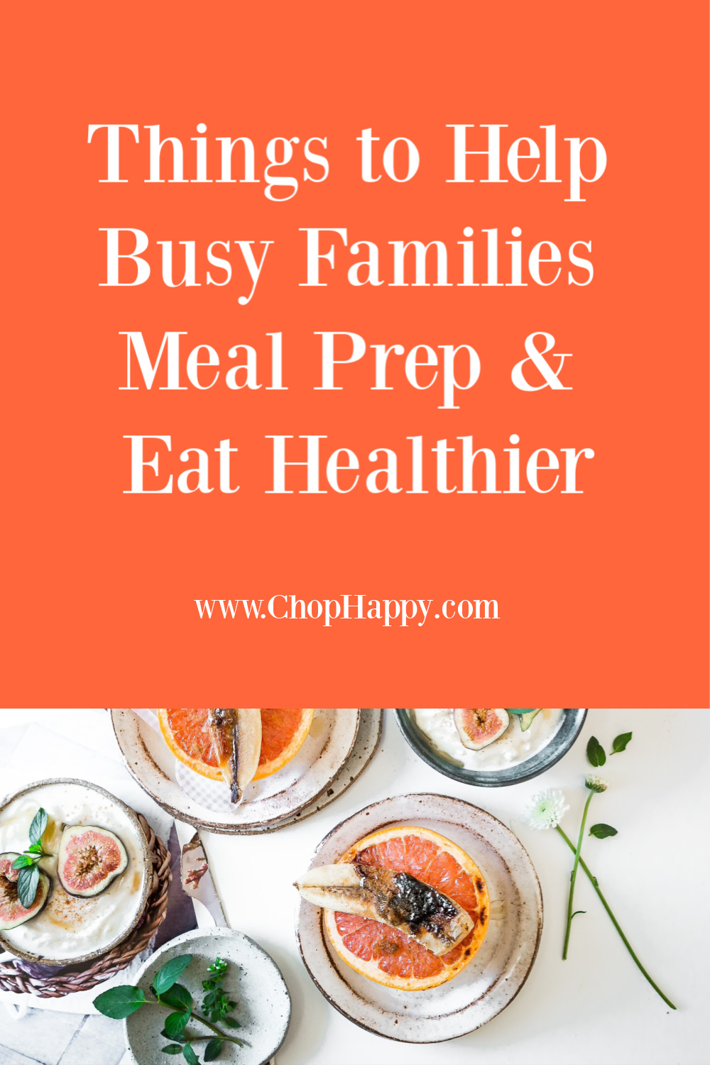 Things to Help Busy Families Meal Prep & Eat Healthier. Meal prep helps families get dinner on the table fast. Here are the top Amazon products to buy for meal prep. Happy Cooking! www.ChopHappy.com #mealprep #eathealthier
