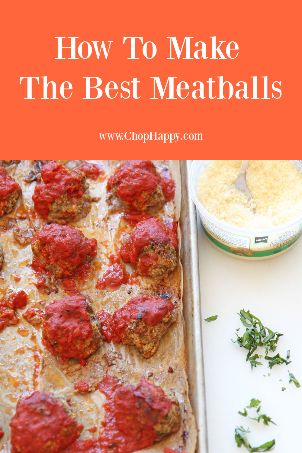 How to Make The Best Meatballs. No matter if chicken meatballs, turkey meatballs, eggplant meatballs, or Italian meatballs. Happy Cooking! www.chophappy.com #meatballs #howtomakemeatballs