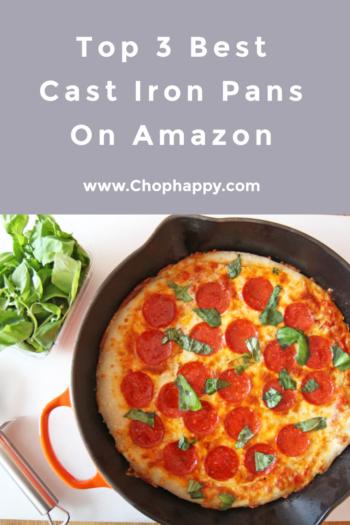 Top 3 Best Cast Iron Pans On Amazon
