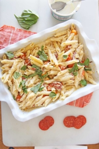Baked Ricotta Pasta (feta TikTok challenge)