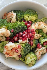 Easy Shrimp and Broccoli Salad