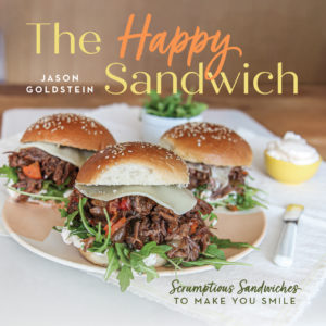 The Happy Sandwich Cookbook! Easy recipe for busy people! Sandwich recipes made in a slow cooker, sheet pan, no cook sandwiches, and no bread sandwiches. A fun cookbook! www.ChoppHappy.com