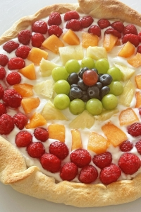 Rainbow Dessert Pizza Recipe