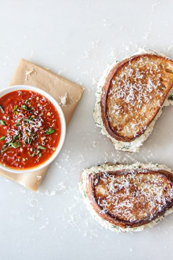 Calzone Grilled Cheese (From The Happy Sandwich Cookbook)