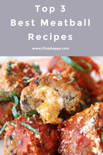 Top 3 Best Meatballs Recipes