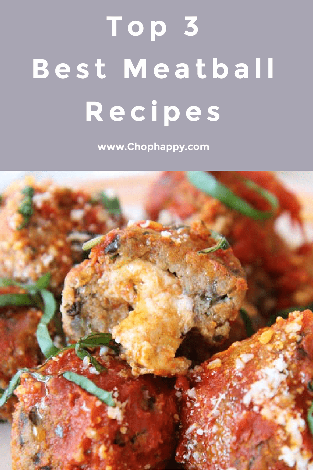 Top 3 Best Meatball Recipes. This is the best meatballs you will every make! Some in a slow cooker and some on a sheet pan! Happy Coking! #meatballs #bestmeatballs
