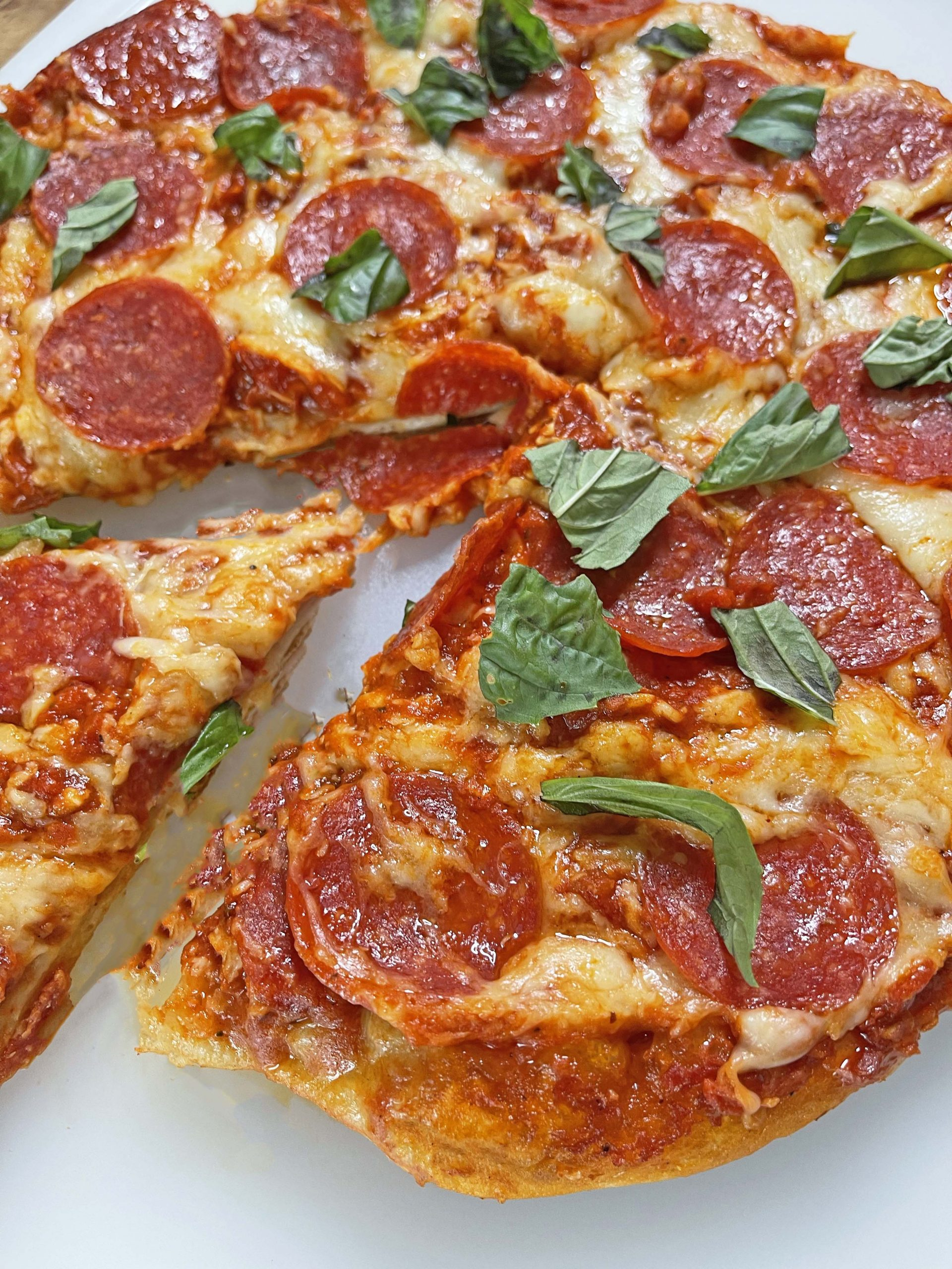 Upside Down Pizza Hack From TikTok. This is easy way to make homemade pizza. You make the pizza in a cast iron pan and its updside down so the pizza crust cooks evenly. Happy Cooking. #TikTokHacks #pizza