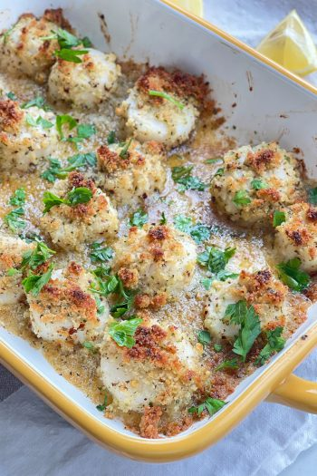 Scallops Oreganata Recipe