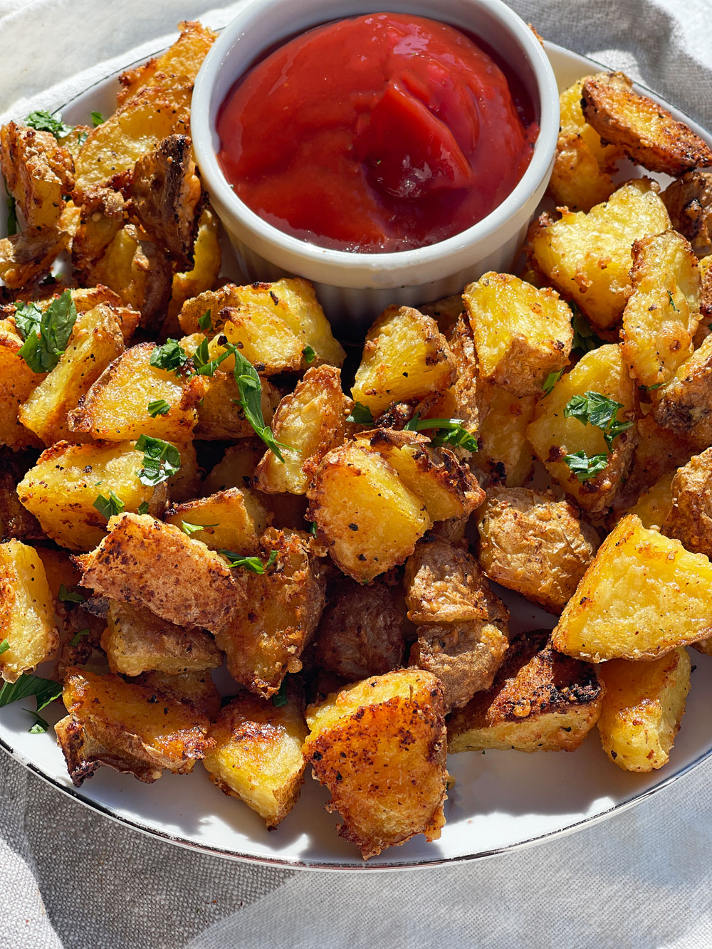 How to Make Crispy Potatoes in the Oven (TikTok Potato Hack)