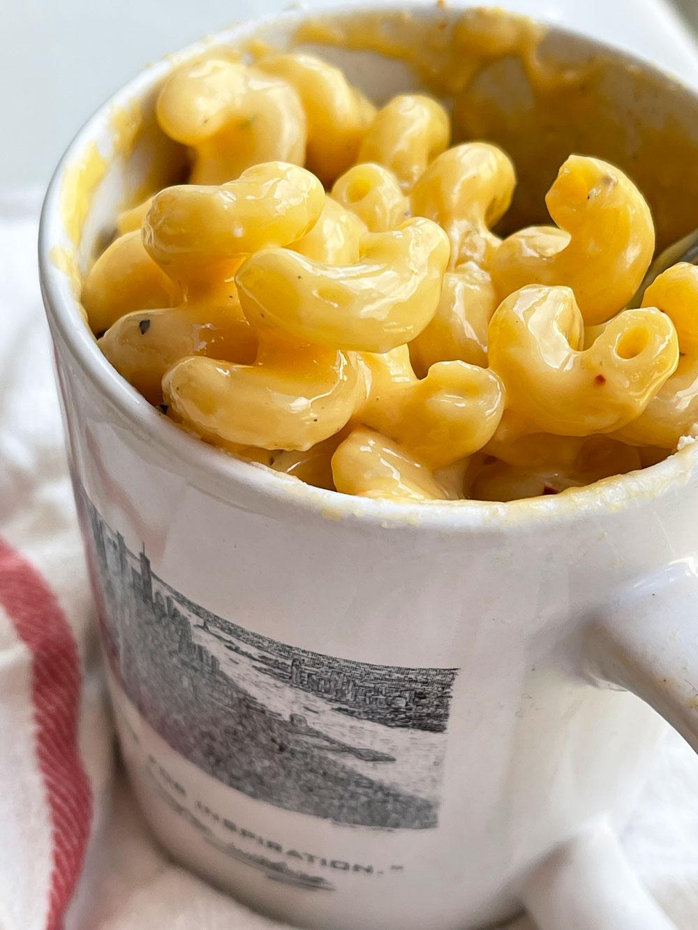 Microwave Mug Mac and Cheese Recipe